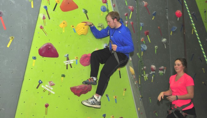 GET UP and CLIMB!–Spooky Nook Sports