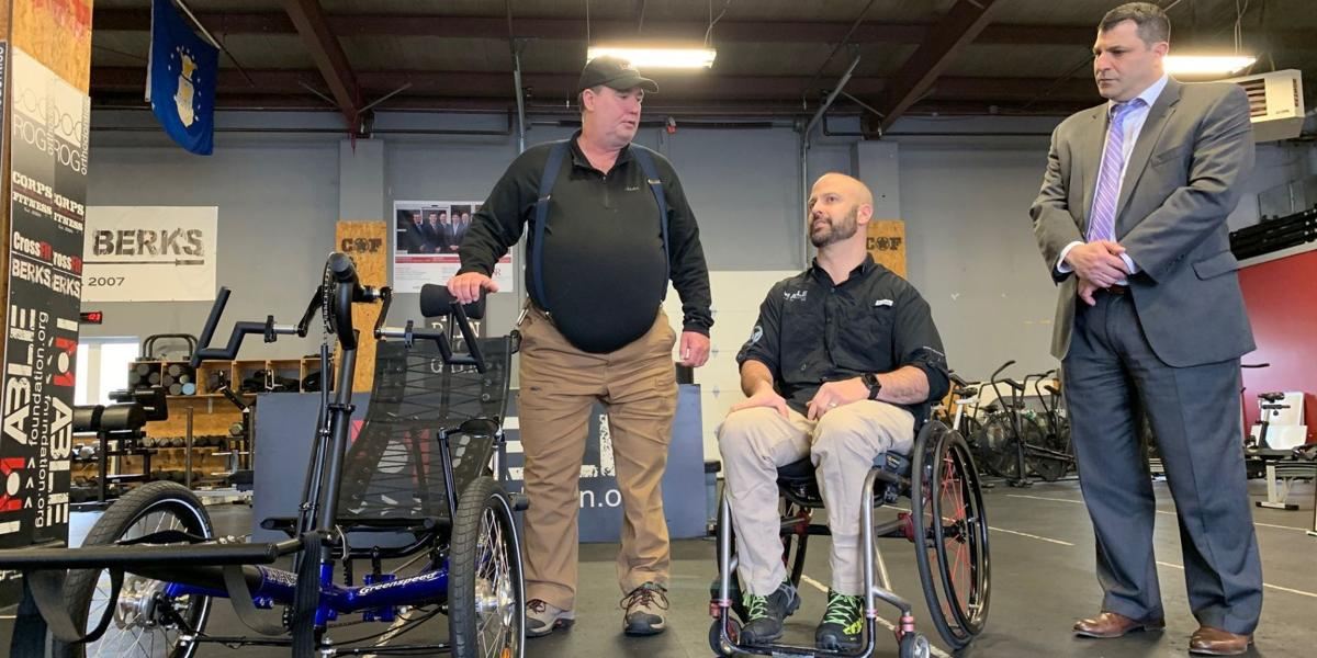 IM ABLE Foundation Gives Adaptive Bike to Amputee