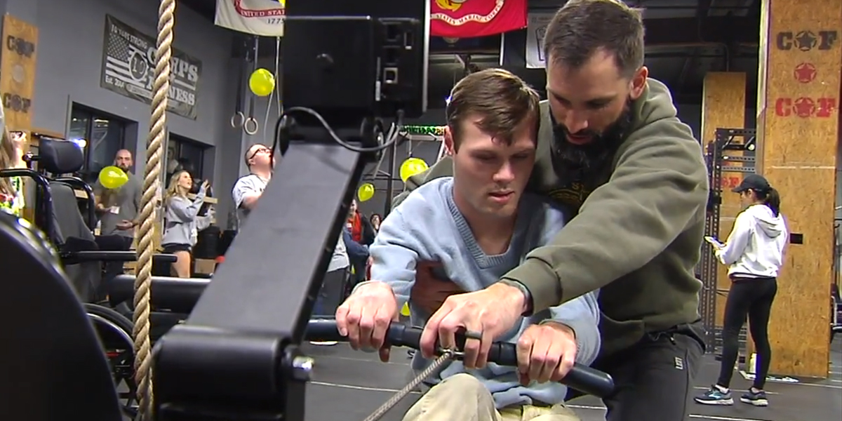 Veterans in Berks Help Kids With Special Needs Get a Workout